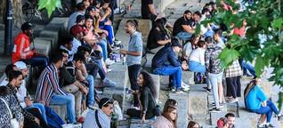 Wo junge Bremer während der Pandemie feiern