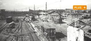 Vor 75 Jahren wurde der Bahnpark in Augsburg zerbombt