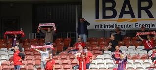 Zuschauer zurück im Stadion: Experiment geglückt