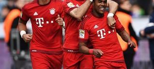 FC Bayern München freut sich in Berlin über vertagte Meisterfeier - DER SPIEGEL - Sport