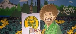 MLS-Duell Seattle Sounders - Portland Timbers: Die kreativsten Fanszenen der USA - DER SPIEGEL - Sport
