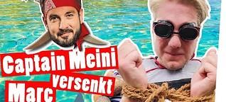 Piraten Prank! Schlauchboot-Marc säuft ab | Strafe || Das schaffst du nie!