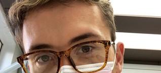 Corona-Alltags-Held: Jakob Stuhlfelder, 25, Zahnarzt, betreut weiter seine Patienten - DER SPIEGEL - Panorama