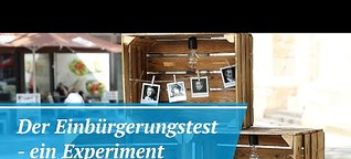 Der Einbürgerungstest - ein Experiment | #Einbürgerung