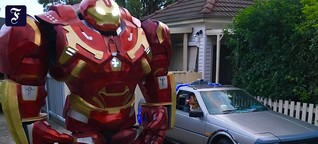 #BinIsolationOuting: Iron Man bringt den Müll raus