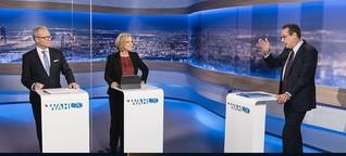 TV-Duell zur Wien-Wahl: Ein ergrünter Strache und Blümels Sehnsucht nach Matthias Strolz