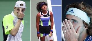 Das Kreuz mit den fünf Sätzen: Warum Tennis derzeit vor allem Kopfsache ist