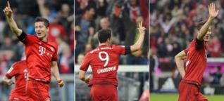 Lewandowskis Neun-Minuten-Rausch: Einer für die Ewigkeit