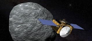 Countdown zum Touchdown: OSIRIS-REx will Proben von Asteroid Bennu holen | MDR.DE