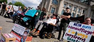 Intensivpflege-Gesetz: Gegner sehen Selbstbestimmung in Gefahr