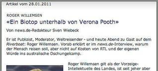 """""""Ein Biotop unterhalb von Verona Pooth"""""""