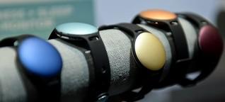 Fitnesstracker und Smartwatches: Zahlen, bitte!