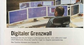 Digitaler Grenzwall