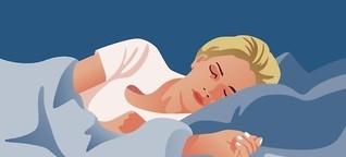 Im Schlaf gelernt