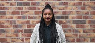 Plötzlich oben: Aminata Touré ist die jüngste Abgeordnete im Landtag in Kiel