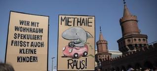"""Demonstration gegen """"Mietenwahnsinn"""": Zehntausende Teilnehmer in Berlin - DER SPIEGEL - Wirtschaft"""