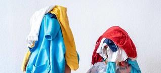 Praktisch oder peinlich?: Klamotten mit Geschwistern teilen