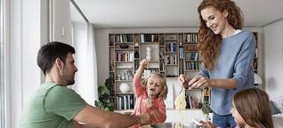 Gemeinsames Essen mit der Familie macht Kinder gesund