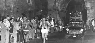 Olympiagold für Barfußläufer Bikila: Triumph auf blanken Sohlen