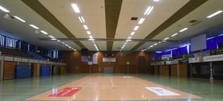 Die marode Sporthalle des ASV Dachau - Augen zu und durch