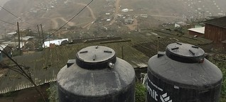 Mit Nebelfängern gegen die Dürre
