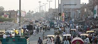 """Porträt von Delhi - """"Im Rausch des Geldes"""""""