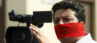 Pressefreiheit in Kolumbien: Druckmittel Visum
