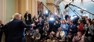Journalistische Teufelsaustreibungen: Sie werden Trump vermissen