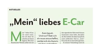 """""""Mein"""" liebes E-Car"""
