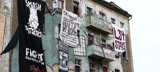 Taggs im Kunstmuseum - Der Protest um die Liebig 34