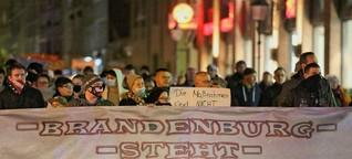 Neonazis mit Endzeitrhetorik (neues deutschland)