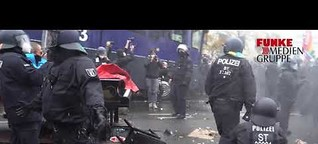 Festnahmen und Wasserwerfer: Demonstration gegen Infektionsschutzgesetz