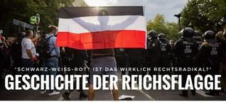 Geschichtsnachhilfe: So rechtsradikal ist die schwarz-weiß-rote Reichsflagge