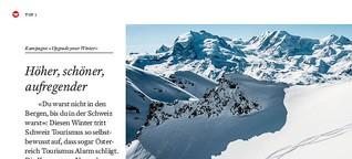 «Du warst nicht in den Bergen, bis du in der Schweiz warst»