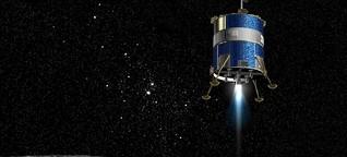 Baumarkt im All: Wie Mond- und Marsstationen entstehen sollen | BR.de