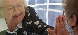 Pflege in Zeiten der Corona-Pandemie - Die Isolation der Alten