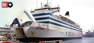 """Fährunglück 1994: Riss ein deutsches U-Boot das Loch in die """"Estonia""""?"""