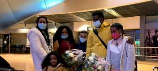 Neun Jahre getrennt: Familie findet nach Flucht zusammen