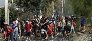 Chile: Wut und Hunger wachsen in der Quarantäne