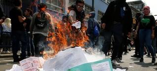 Chile: Verklagt mit einem Gesetz aus Zeiten der Diktatur