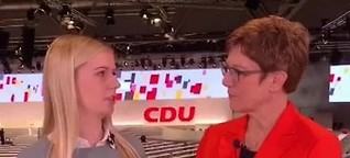 Interview mit Annegret Kramp-Karrenbauer (November 2019)