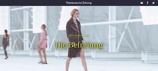 Süddeutsche Zeitung: Paris Fashion Week: Die Befreiung