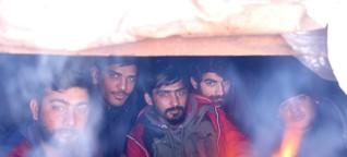"""BILD bei Flüchtlingen in Bosnien : """"The Game"""" oder 1000 Euro für ein bisschen Hoffnung"""