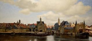 """Jan Vermeer in Den Haag - Ganz allein mit der """"Ansicht von Delft"""""""
