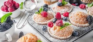 Mini-Kuchenliebe: Muffins - einfach und schnell