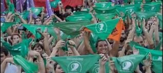 Grüne Tücher für mehr Selbstbestimmung der Frauen - Kommentar