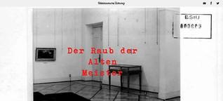 Süddeutsche Zeitung: Der Raub der Alten Meister