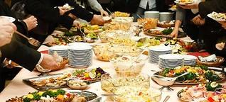 Essen am Abend macht besonders dick