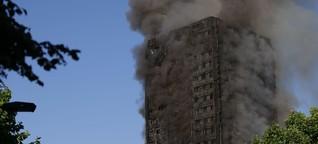 Städte ignorieren Feuergefahr bei Hochhäusern