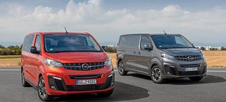 Fahrbericht: Kurze Ausfahrt mit dem Opel Vivaro-e und Zafira-e-Life - electrive.net